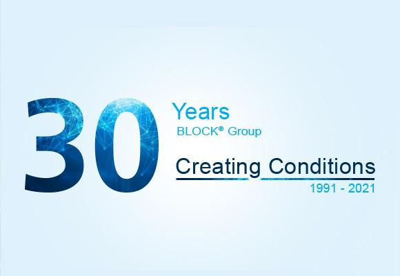 30th anniversary BLOCK<sup>®</sup> Group